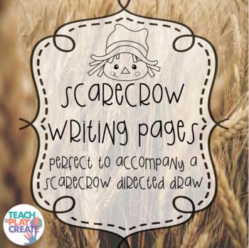 Scarecrow Writing Pages
