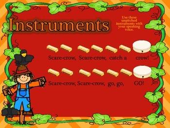 Scarecrow - a fun Fall song