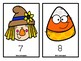 Scarecrow and Candy Corn Counting Mats FREEBIE!