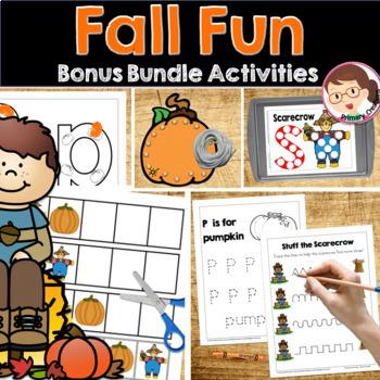 Fall Fun Bundle ELA Math Activities