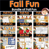 Scarecrow and Pumpkins PreK Literacy and Maths Activities