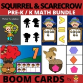 Scarecrow and Squirrel Math BOOM Bundle