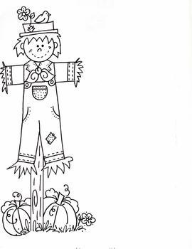 Scarecrow border