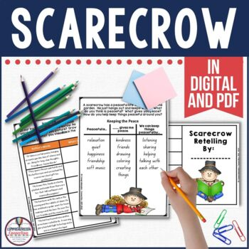 This teaching bundle features the book, Scarecrow by Cynthia Rylant. It's perfect for visualizing, point of view, summarizing, and writing.
