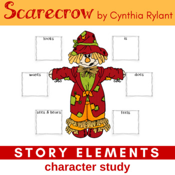 Scarecrow by Cynthia Rylant Focus Story Elements, Characters