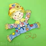 Scarecrow for Harvest Festivals - STEAM Craft Activity (Le