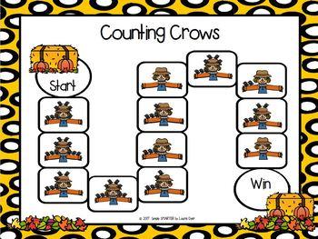 Scarecrow's Crows Emergent Reader Book AND Interactive Activities