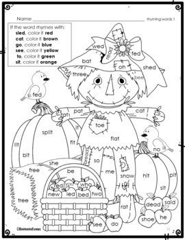 SCARECROWS: Math, Literacy, Music, & Art Activities