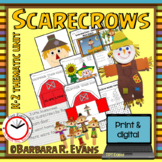 SCARECROWS: Math, Literacy, Music, & Art Activities