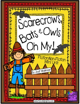 Scarecrows, Bats and Owls...Oh My!