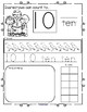 Scarecrows Fall Number Practice Printables - Recognition Tracing Counting 1-20
