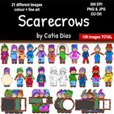 Scarecrows Clip Art