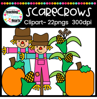 Scarecrows Clipart