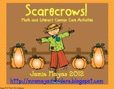Scarecrows!  Math & Literacy Common Core Activities