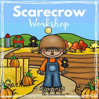 Kindergarten - Special Education-Primary -Scarecrows Math & Literacy Activities