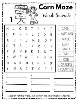 Kindergarten - Special Education-Primary -Scarecrow Workshop