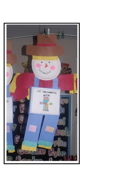 Scarecrows Math and Literacy Fun