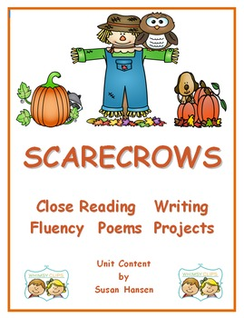 Scarecrows! Close Reading, Writing and Fall Activities