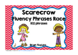 Scarecrows Sight Word Fluency Phrases Race