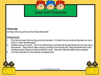 Scarecrows Sort It Out:  LOW PREP Scarecrow Themed Spin and Sort Activity