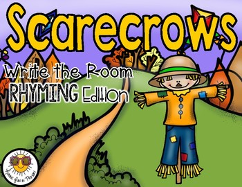 Scarecrows Write the Room - Rhyming Edition
