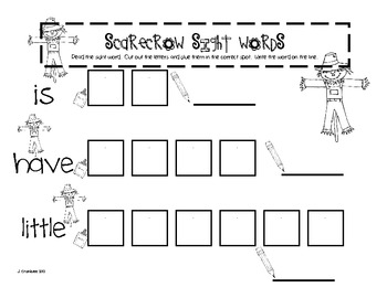Scarecrows and Spiders: A Math and Literacy Unit