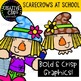 Scarecrows at School: Fall Clipart {Creative Clips Clipart}