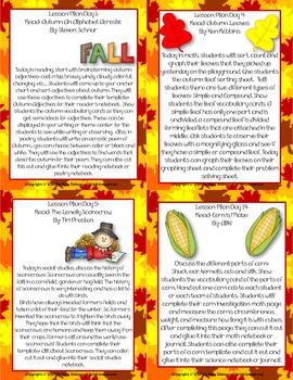 Scarecrows in Autumn: A Thematic Unit Grades 1-3