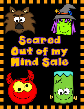Scared Out of My Mind Sale:  Pick 10 for $15