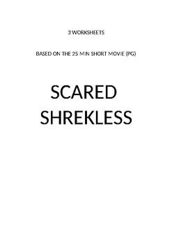 Scared Shrekless (Halloween) movie printables