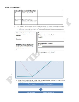 Scared to Death Mini-Unit Plan (Assessments, Handouts, and Answer Key Included)