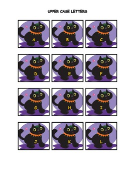 Scaredy Cat! A Letter Recognition, Letter Sound, and Sight Word Game!