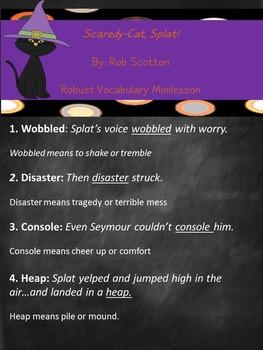 Scaredy-Cat, Splat! Book Extensions