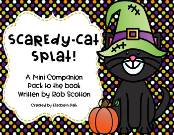 Scaredy-Cat, Splat! Companion Pack