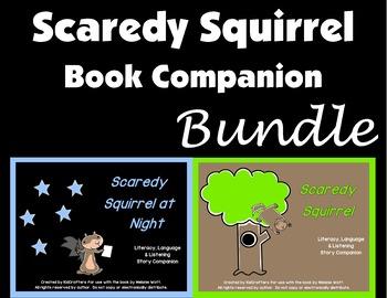 Scaredy Squirrel Book Companion Bundle