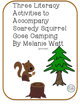 Scaredy Squirrel Goes Camping preview