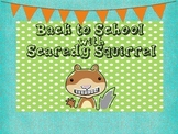 Scaredy Squirrel Printables
