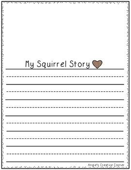 Scaredy Squirrel Project
