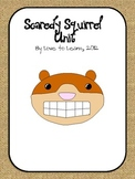 Scaredy Squirrel Unit - Writing, Math, Word Work for Students