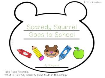 Scaredy Squirrel Writing Book