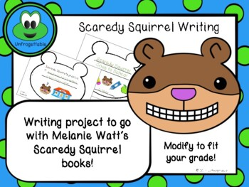 Scaredy Squirrel Writing Book