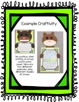 Scaredy Squirrel: Writing Prompts and Craft