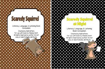 Scaredy Squirrel and Scaredy Squirrel at Night Bundle