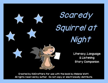 Scaredy Squirrel at Night Story Companion