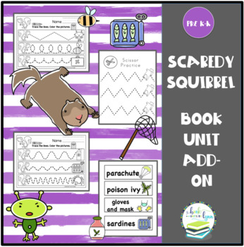 Scaredy Squirrel by Melanie Watt Book Unit Add-On