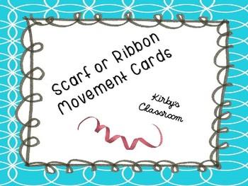 Scarf/Ribbon/Flashlight Activity Cards