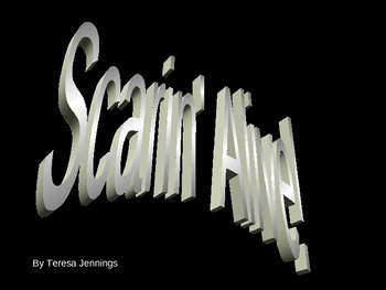 Scarin' Alive Powerpoint to Song- Halloween/October