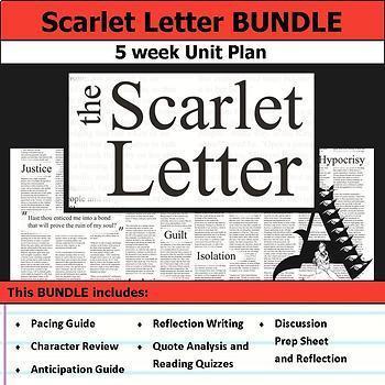Scarlet Letter Unit Bundle