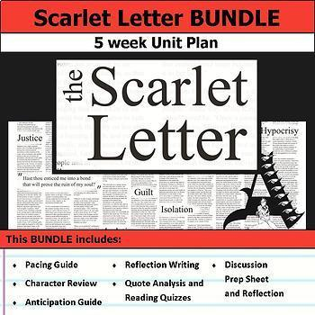 Scarlet Letter Unit Bundle