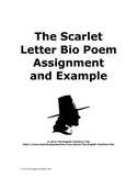 The Scarlet Letter Symbolism Bio Poem with Example